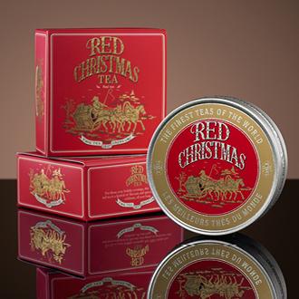 Red Christmas Tea